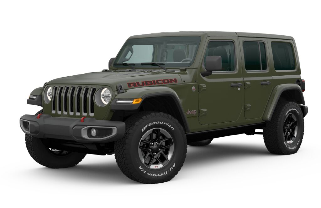 New 2020 Jeep Wrangler Unlimited Unlimited Rubicon