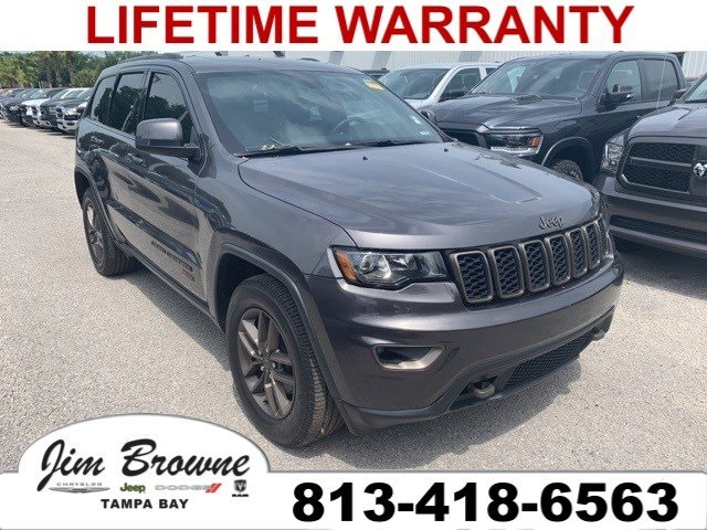 Pre Owned 2016 Jeep Grand Cherokee 75th Anniversary