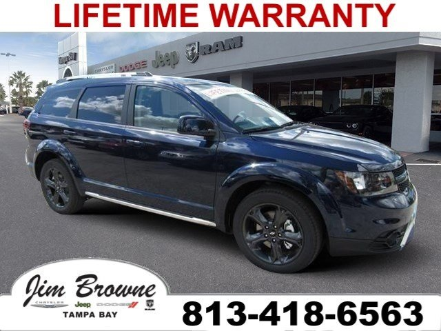 Jim Browne Dodge >> New 2018 Dodge Journey Crossroad Sport Utility In Tampa B856074