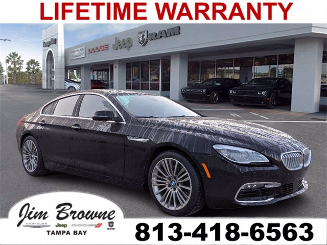 PRE-OWNED 2017 BMW 6 SERIES WITH NAVIGATION & AWD